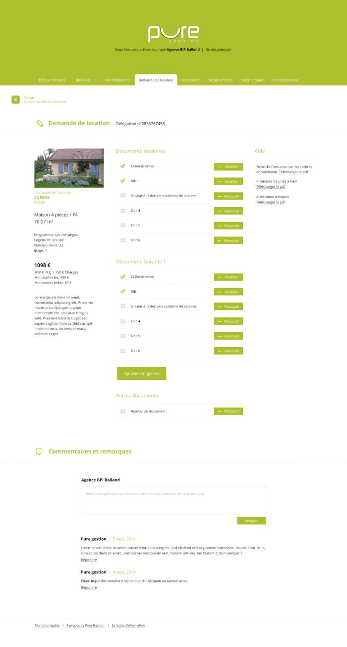 site internet de pure gestion inook. Black Bedroom Furniture Sets. Home Design Ideas